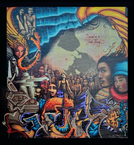 Mural Norte-Sur, by Shalak & Guko, 2008
